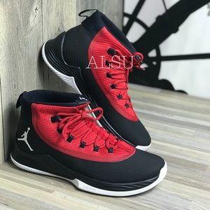 Nike Jordan Ultra Fly 2 Black Gym Red Men's AUTHEN